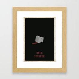 House of Cards - Doug Framed Art Print