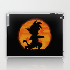 Goku by night Laptop & iPad Skin