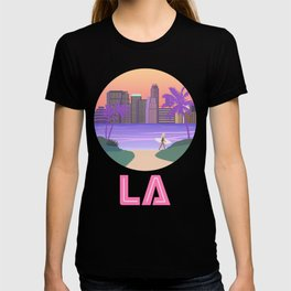 Los Angeles City Art T-shirt