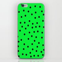 kiwi iPhone & iPod Skins featuring Kiwi by TheseRmyDesigns