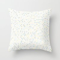 polka dot Throw Pillows featuring Polka Dot by Alisa Galitsyna