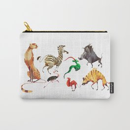 African animals 2 Carry-All Pouch