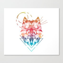 Spirit of the Wolf Canvas Print