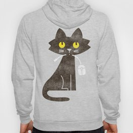 Fitz - Hungry hungry cat (and unfortunate mouse) Hoody