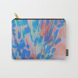 Blue Petal Surge Carry-All Pouch