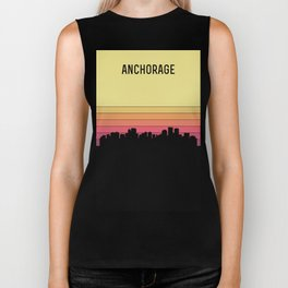 Anchorage Skyline Biker Tank