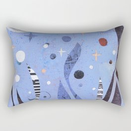 BLUE UNTITLED Rectangular Pillow