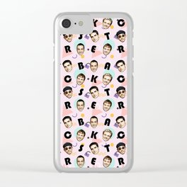 BackstreetBoys Pattern Art Clear iPhone Case