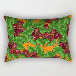 Raspberry Rectangular Pillow
