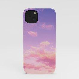 Cranberry Sky Pink Sunrise Print iPhone Case