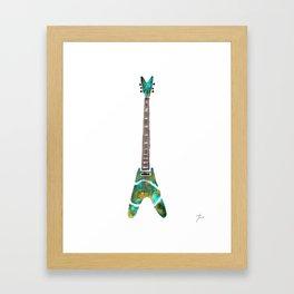 Guitar 1 Framed Art Print