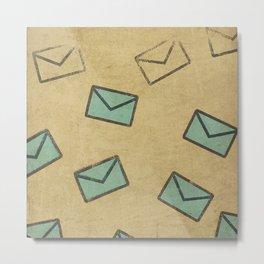 Letter Metal Print