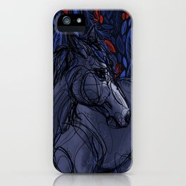 Valor the Mustang iPhone Case