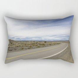 Patagonian Roads Rectangular Pillow