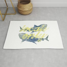 Locals Only Watercolor Rug
