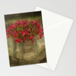 Begonia flowers Stationery Cards