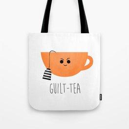 Guilt-tea Tote Bag