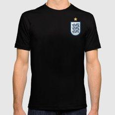 England Minimal Black LARGE Mens Fitted Tee