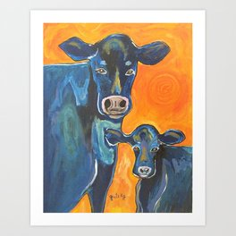 Have a cow Art Print