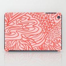 high red iPad Case
