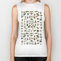 insects Biker Tanks featuring Insects by Noughton