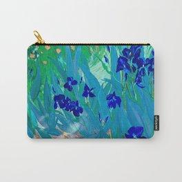 Iris Garden Carry-All Pouch