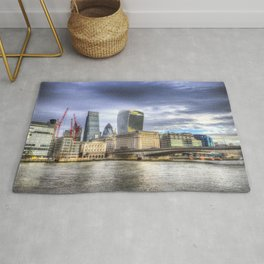 City of London and River Thames Rug