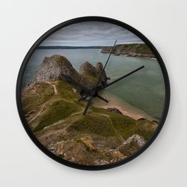 Three Cliffs Bay and the Great Tor Wall Clock
