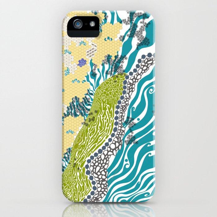 Beehive Island iPhone Case