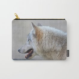 Wolf Profile Carry-All Pouch