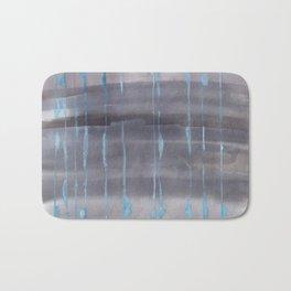 Grey Rain Bath Mat