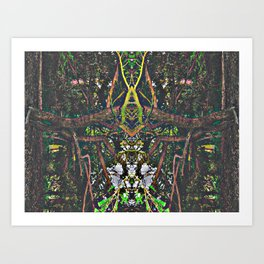 Treeflection V Art Print
