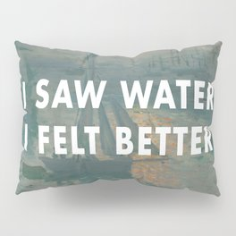 I Saw Water x French Sunrise Pillow Sham