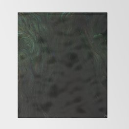 Deep Dark Throw Blanket