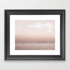 Serene Seascape Framed Art Print