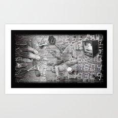 #ERROR57.06 Art Print
