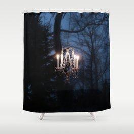 Chandelier in the Wild Shower Curtain