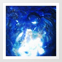 Bubble Aura Art Print