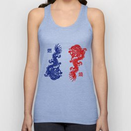 Ran and Shaw Unisex Tank Top