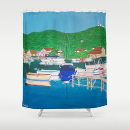 Agios Stefanos, Corfu Shower Curtain