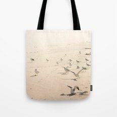 Bird Beach Tote Bag