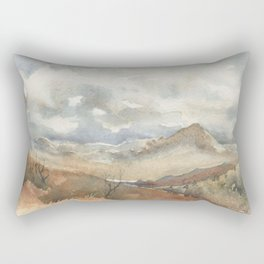 Old Stagecoach route to Nutt Rectangular Pillow