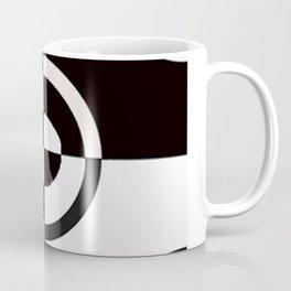 black & white check Coffee Mug