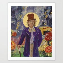 Gene Wilder Icon Art Print