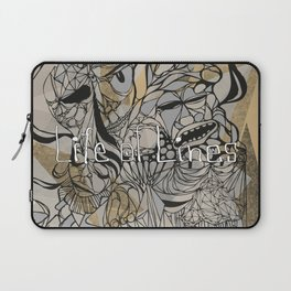 Life of Lines Laptop Sleeve