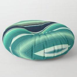 Mexican serape #2 Floor Pillow