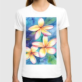 Blooming Plumeria 5 T-shirt