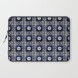 Azulejo VII - Portuguese hand painted tiles Laptop Sleeve