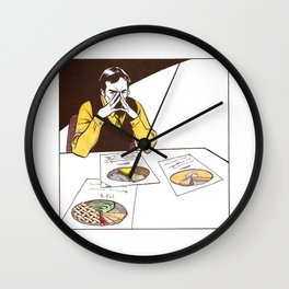 Ability to turn pie charts into fresh pie Wall Clock