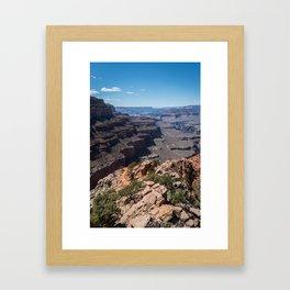 Grand Canyon View Framed Art Print